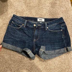 Paige denim shorts size 26
